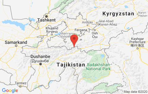 latest earthquake today location